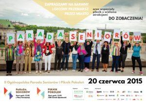 Parada Seniorów 2015-plakat