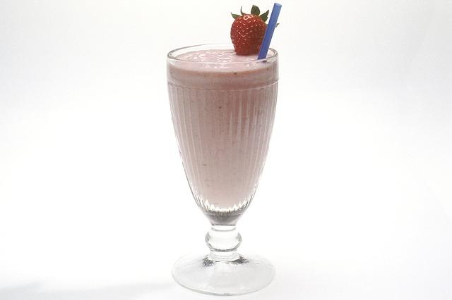 koktajl truskawkowy