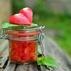 Sałatka z papryki i selera