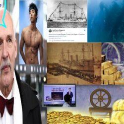 złoty statek