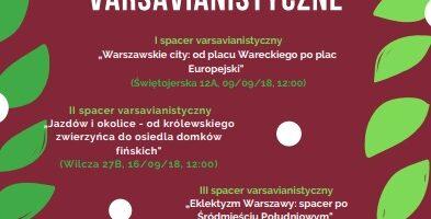 Warszawa zaprasza seniorów na wspólne spacery i nie tylko