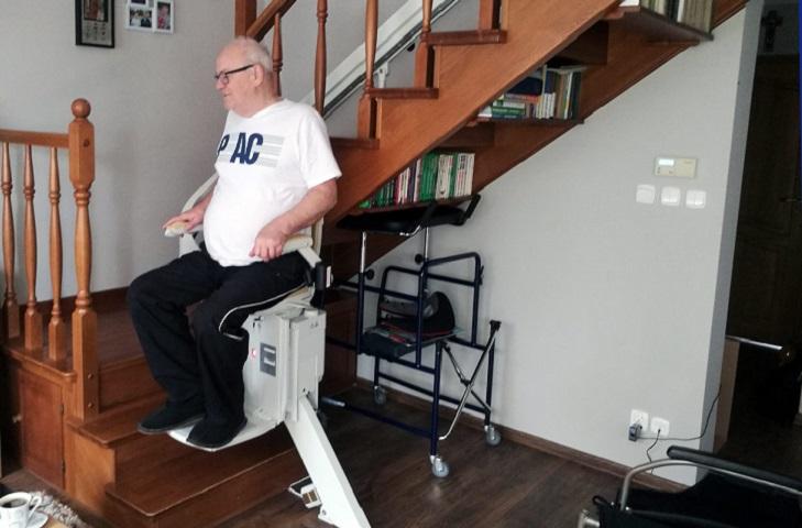 Krzesełko schodowe
