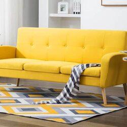 Żółta kanapa